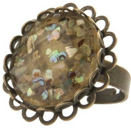 Ellen Beekmans_Bronzen ring met parelmoer_29,95euro