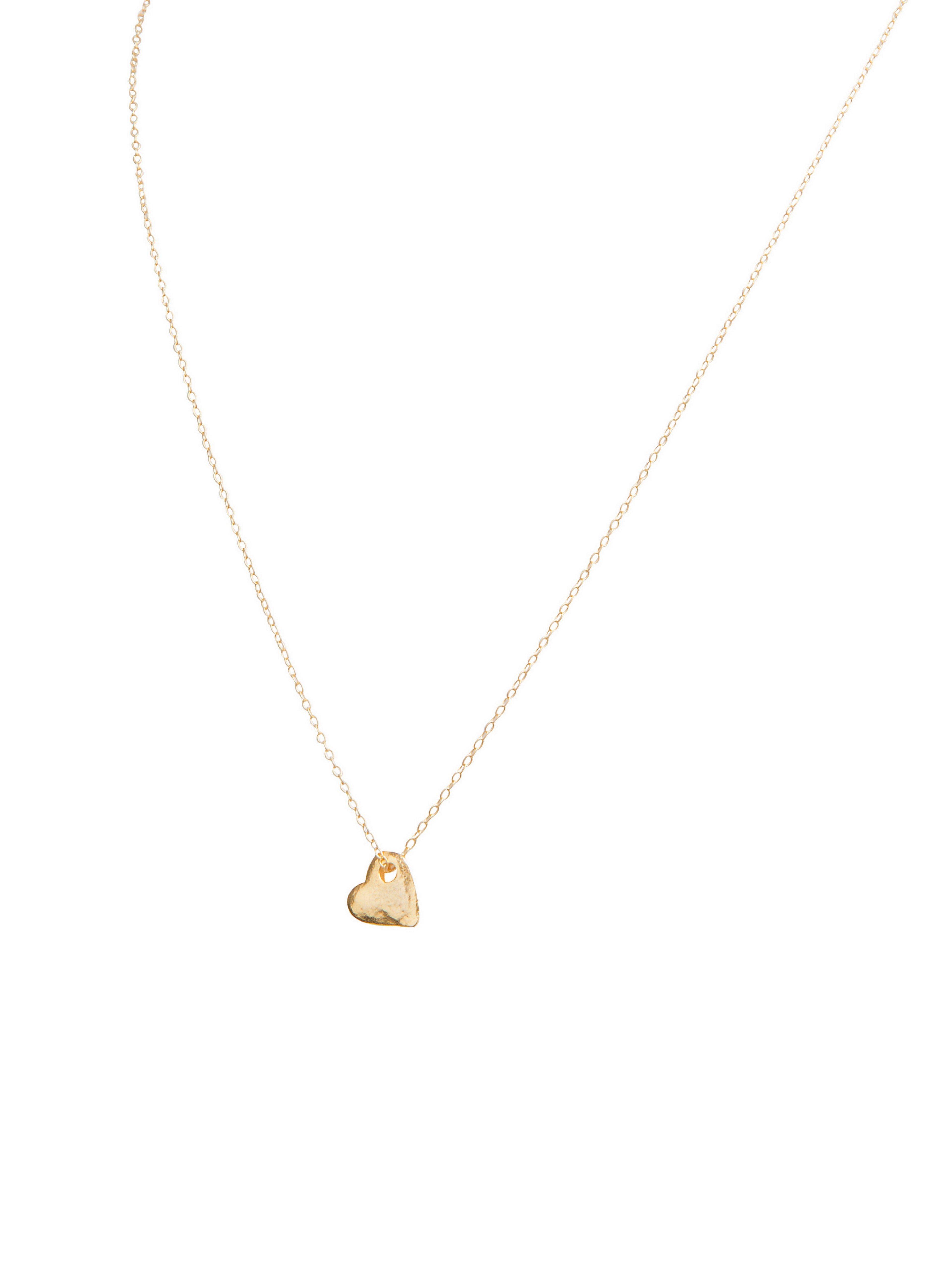 Verwonderend Korte ketting met mini hartje(1cm) / goud of zilver - Ellen Beekmans MY-48