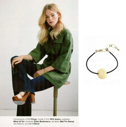 Armband met vintage munt in Marie Claire