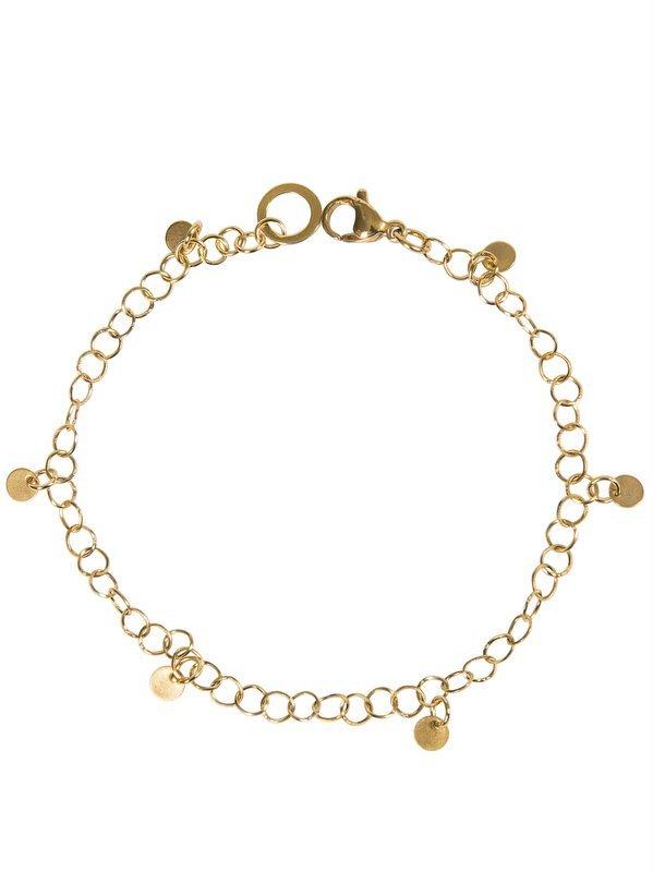 Short link necklace with mini coins - Ellen Beekmans